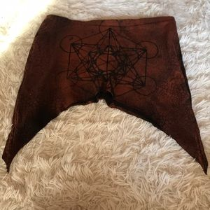 Hand crafted pixie skirt